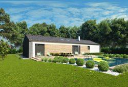 Rodinný dom na úzky pozemok EMMA 7 - Rodinný dom na úzky pozemok - ako si vybrať vhodný projekt domu?