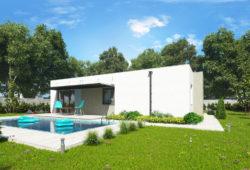 Stavba domu na kľúč - bungalov SARAH 1 s terasou - Mýty a fakty o stavbe domu