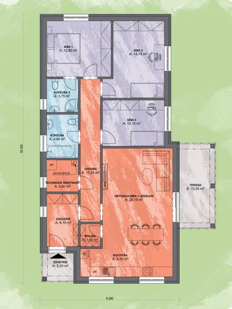 Projekt domu LUNA 12