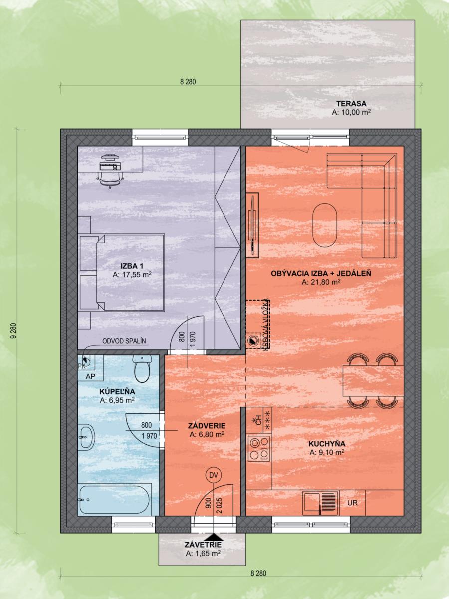 Lea 7 Design Podorys - LEA 7 | Familyhouse