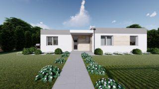 Projekt domu ANGI 1