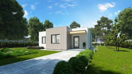 Moderný dom ANGI 5 vchod - Bungalov ANGI 6 | Familyhouse