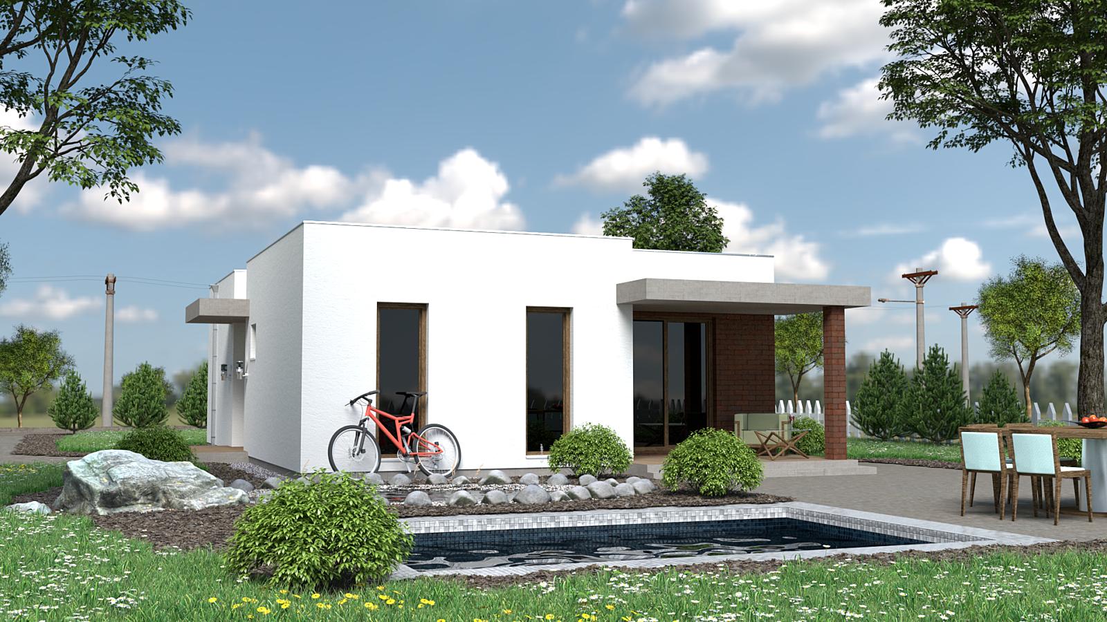 Projekt domu BEA 2