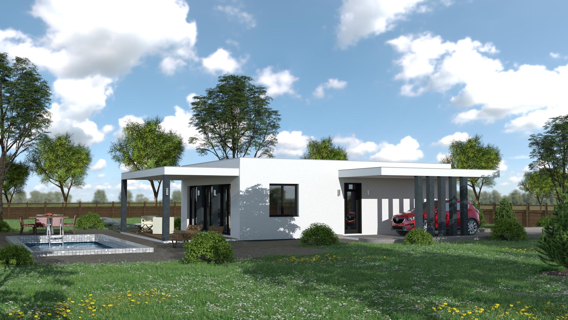 Projekt moderného domu BEA 4
