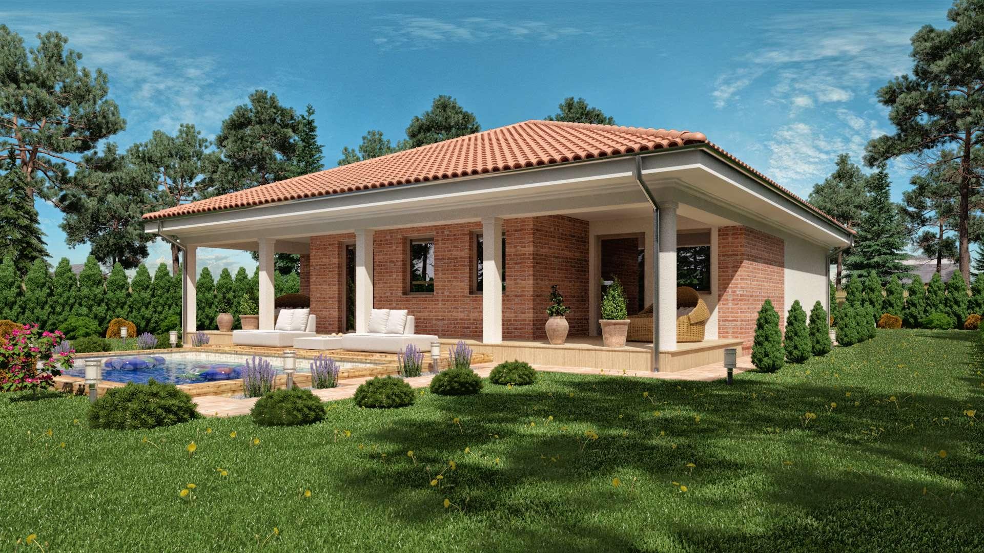 Projekt domu EMMA 1