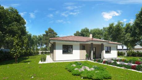 Projekt domu - bungalov EMMA 10 - Bungalov EMMA 13 | Familyhouse