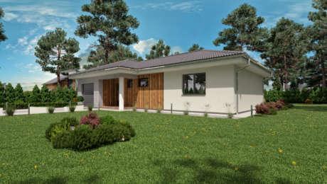 Projekt rodinného domu - bungalov EMMA 3 - Bungalov EMMA 13 | Familyhouse
