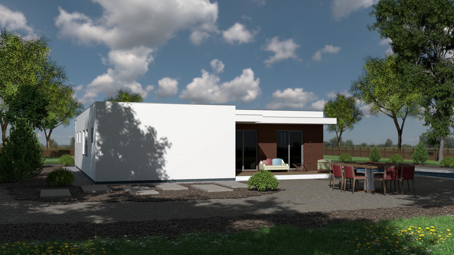 Projekt domu ENOS 2