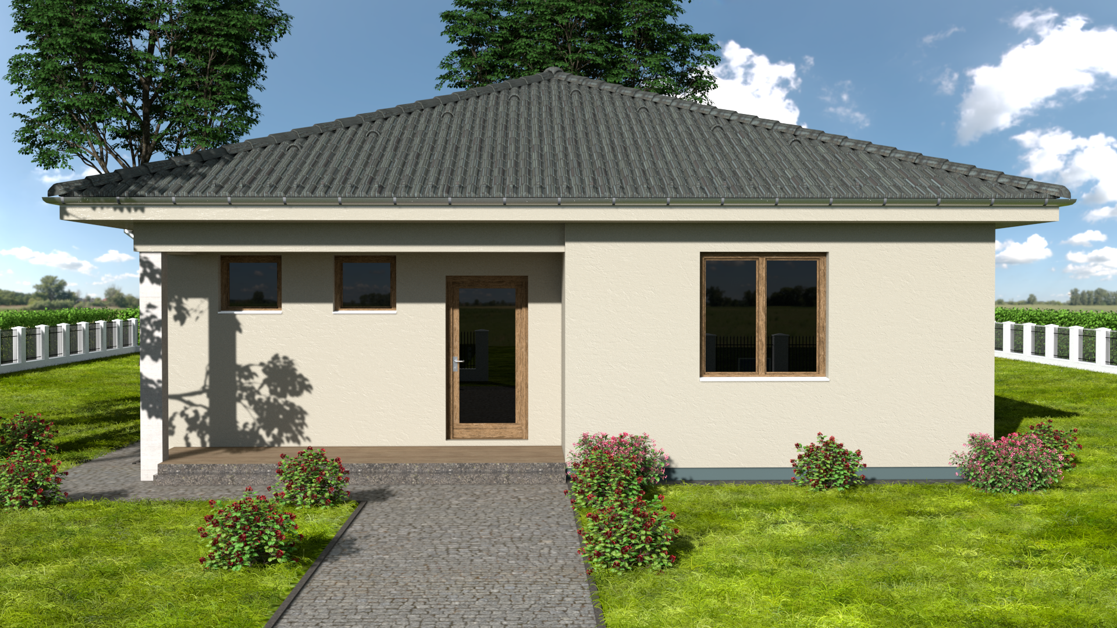 Projekt domu EVA 4
