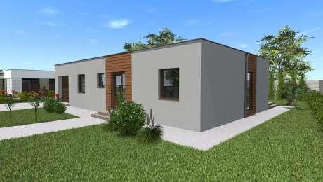 Projekt moderného domu - Bungalov LADY 3 - Bungalov LADY 2 | Familyhouse