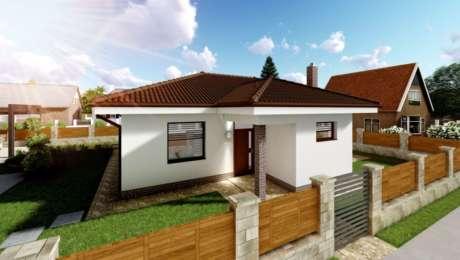 Malý 3 izbový bungalov LEA 2 - vchod do domu - Bungalov LEA 3 | Familyhouse
