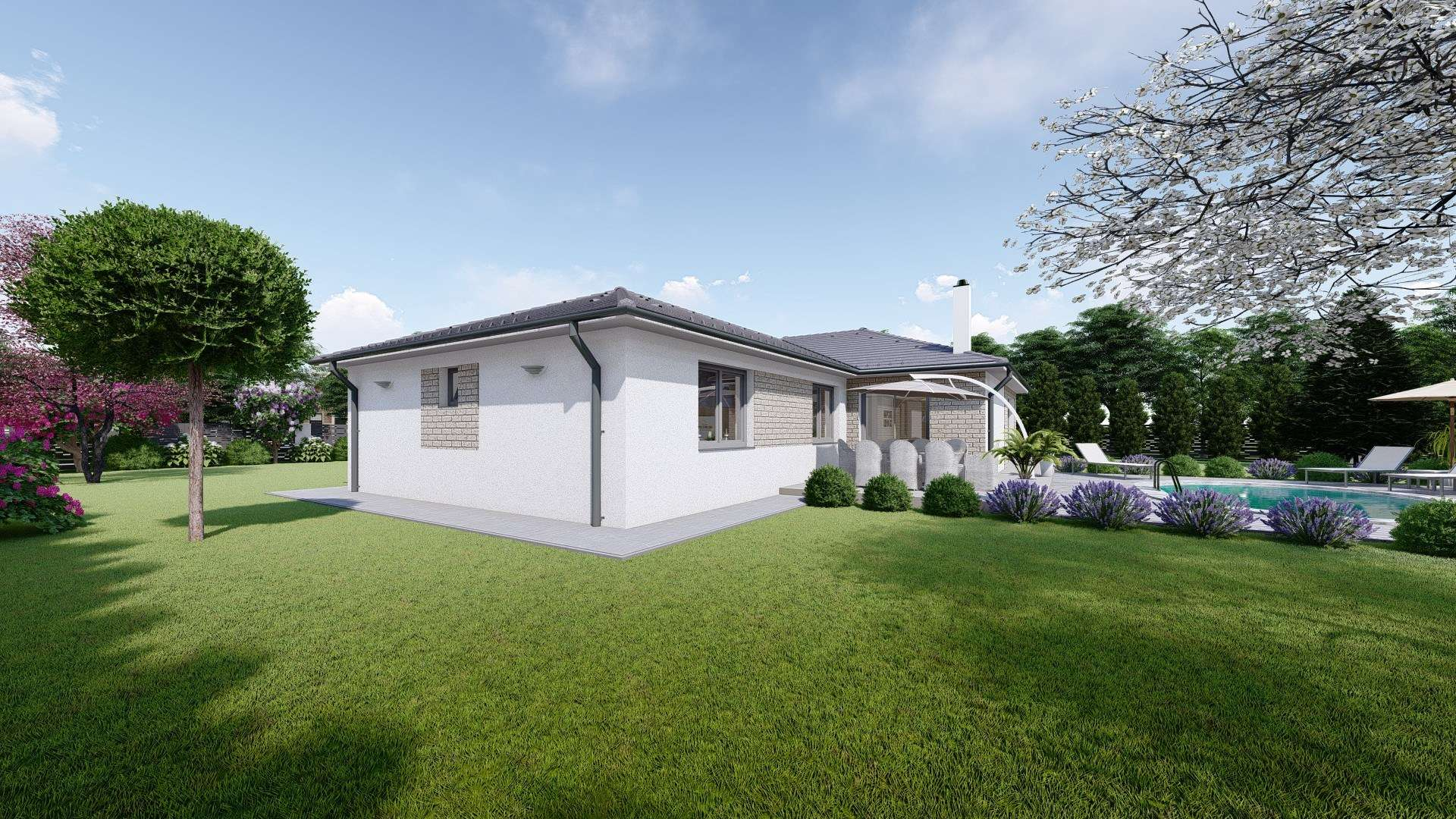Projekt domu LISA 2