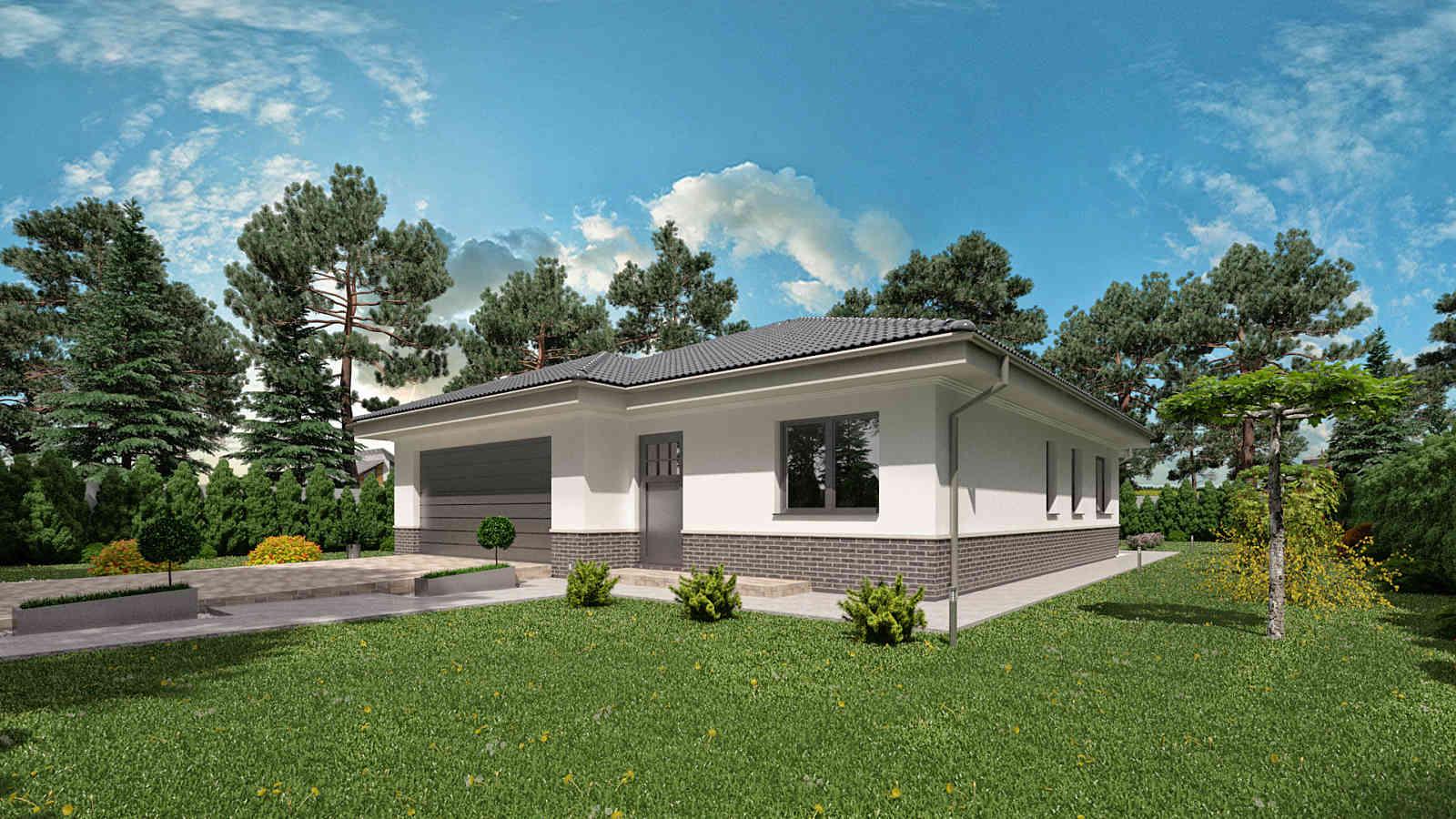 Projekt domu LISA 4