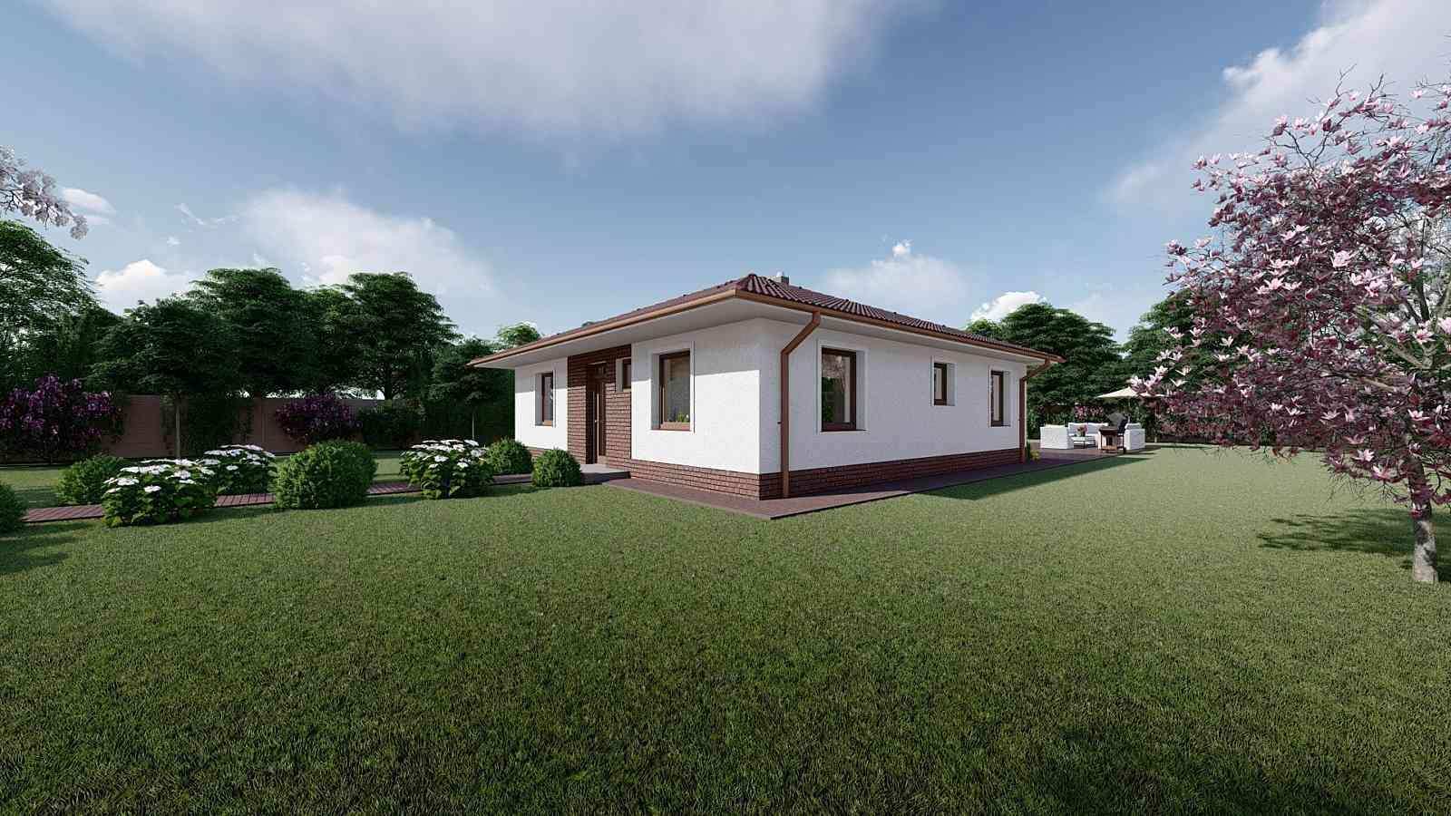 Projekt domu LUNA 1