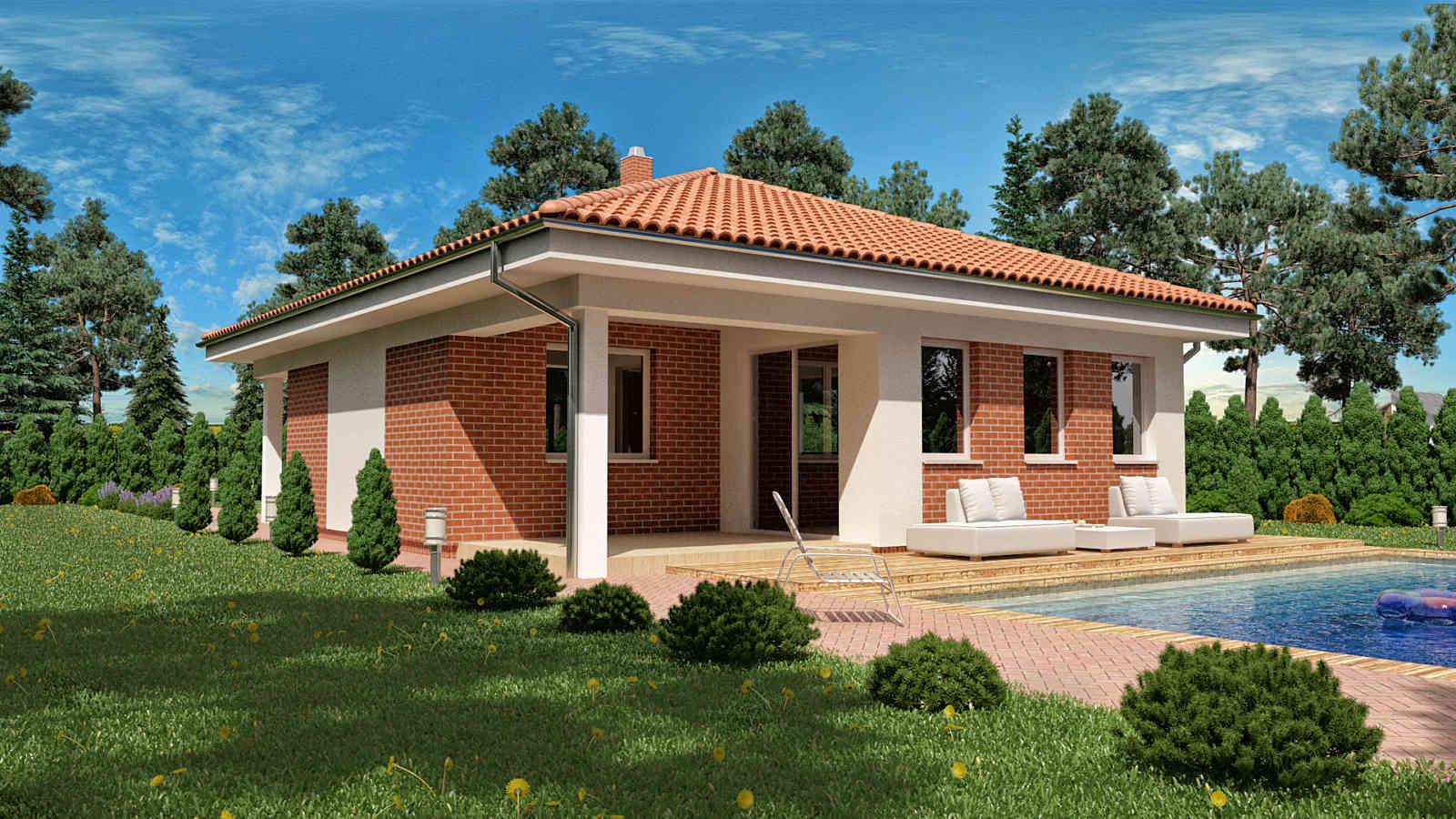 Projekt domu LUNA 10