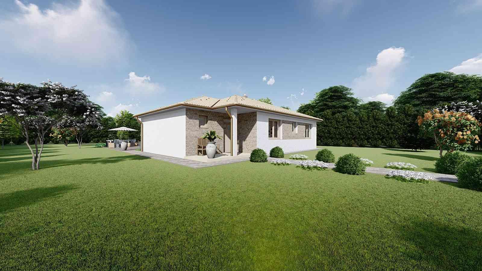 Projekt domu LUNA 11