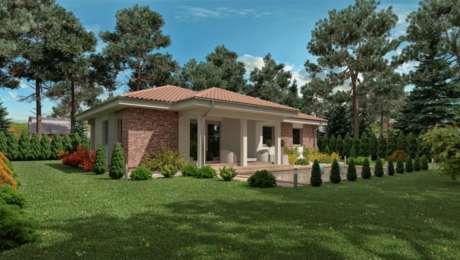 Projekt 4 izbového domu - bungalov LUNA 12 - Bungalov LUNA 10 | Familyhouse