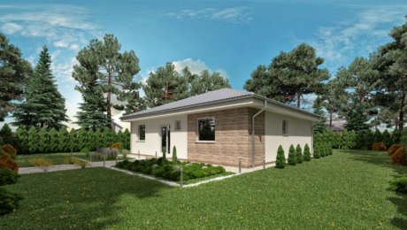 Projekt domu - bungalov LUNA 13 - Bungalov LUNA 12 | Familyhouse