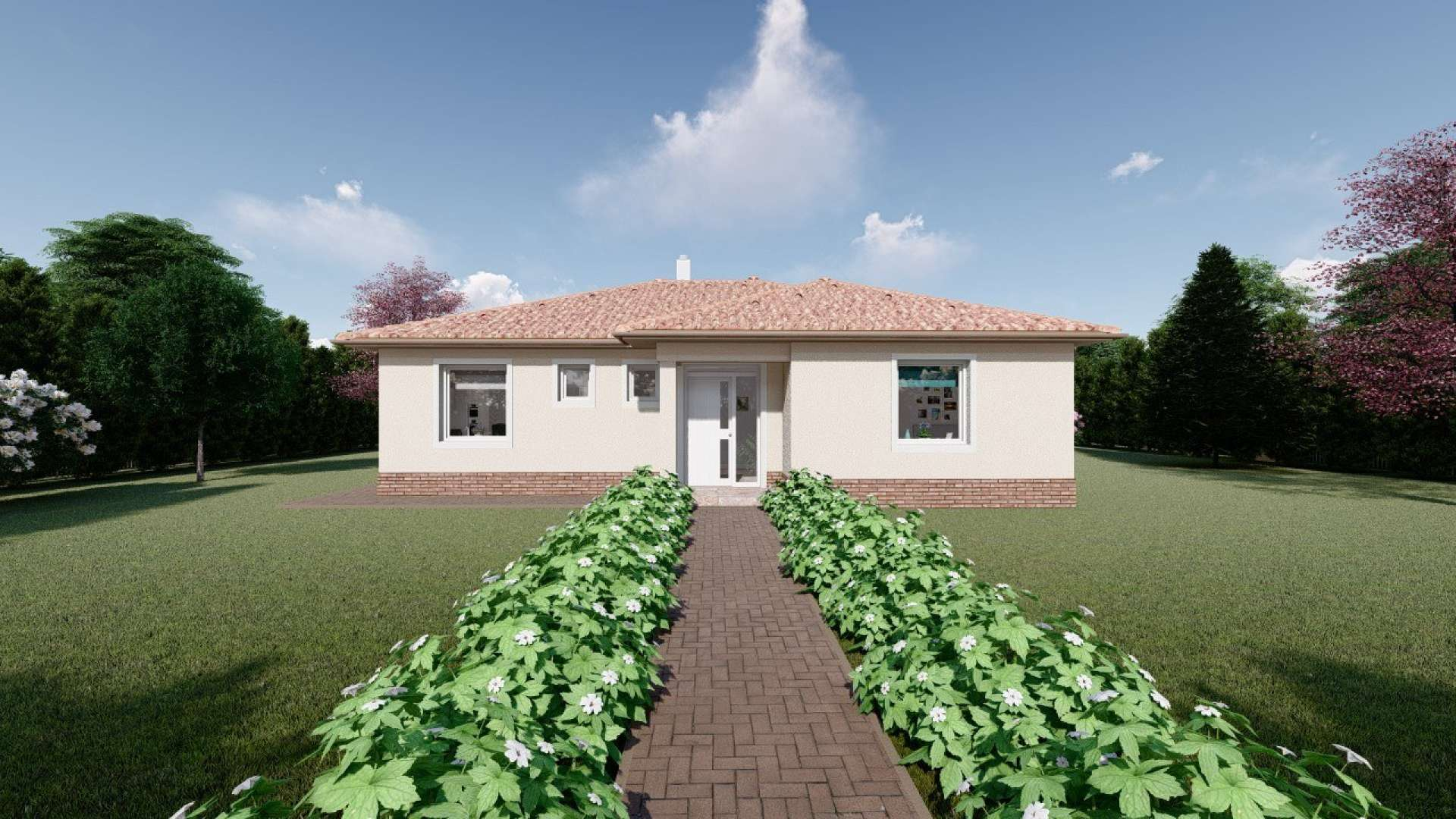 Projekt domu LUNA 14
