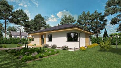 4 izbový dom s šatníkom LUNA 16 - Bungalov LUNA 10 | Familyhouse