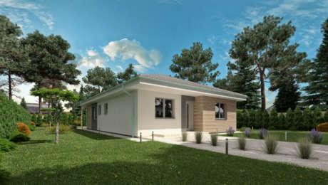 4 izbový bungalov LUNA 17 - Bungalov LUNA 9 | Familyhouse