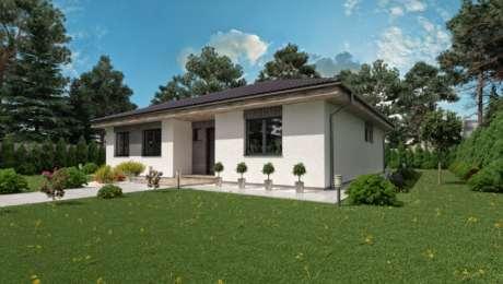 Projekt domu LUNA 19 - Bungalov LUNA 12 | Familyhouse