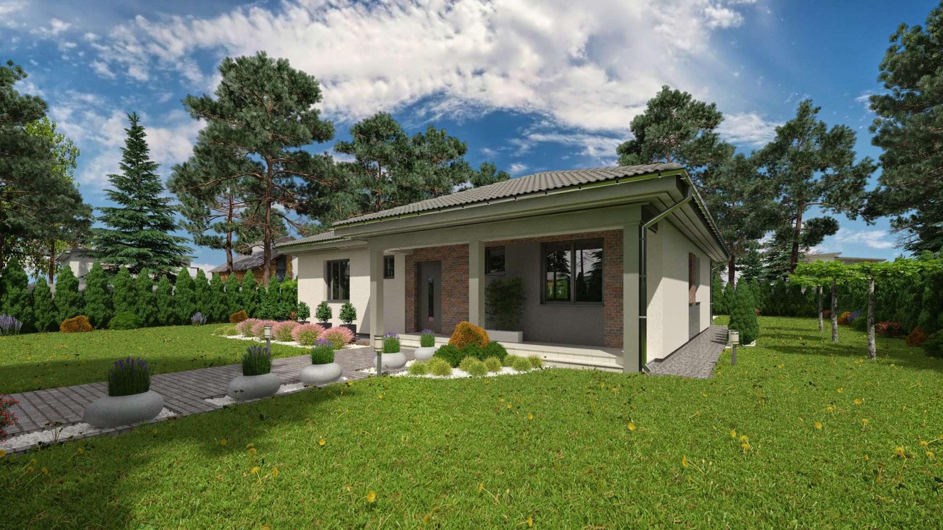 Projekt domu LUNA 21