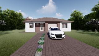 Projekt domu LUNA 3