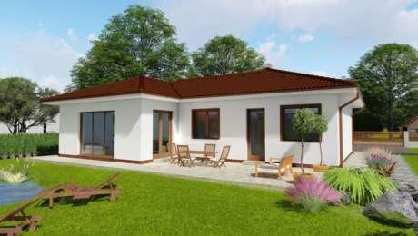 4 izbový bungalov s terasou LUNA 4 - Bungalov LUNA 9 | Familyhouse