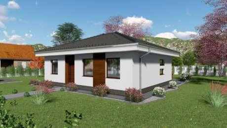 4 izbový bungalov LUNA 6 - vchod do domu - Bungalov LUNA 10 | Familyhouse