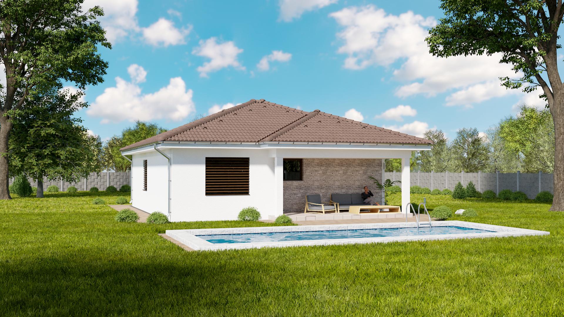 Projekt domu MAJA 2