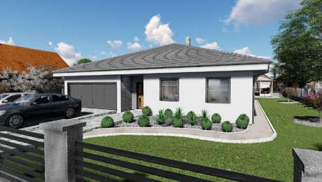 5 izbový rodinný dom s dvojgarážou NATALY 1 - Bungalov NATALY 4 | Familyhouse