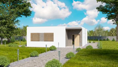Vchod do malého bungalovu NIA3 - Bungalov NIA 2 | Familyhouse