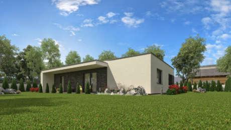 Moderný bungalov NOCTE 1 - Bungalov NOCTE 3 | Familyhouse