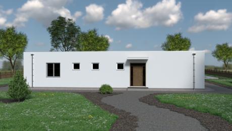 Moderný dom s rovnou strechou NOCTE 2 - Bungalov NOCTE 3 | Familyhouse