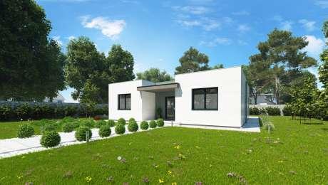 Moderný dom SIMI 1 - vchod do domu - Bungalov SIMI 3 | Familyhouse