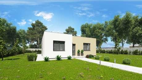 Moderný dom SIMI 2 - projekt domu - Bungalov SIMI 1 | Familyhouse
