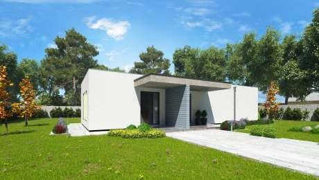 Projekt domu SIMI 3 - Bungalov SIMI 4 | Familyhouse