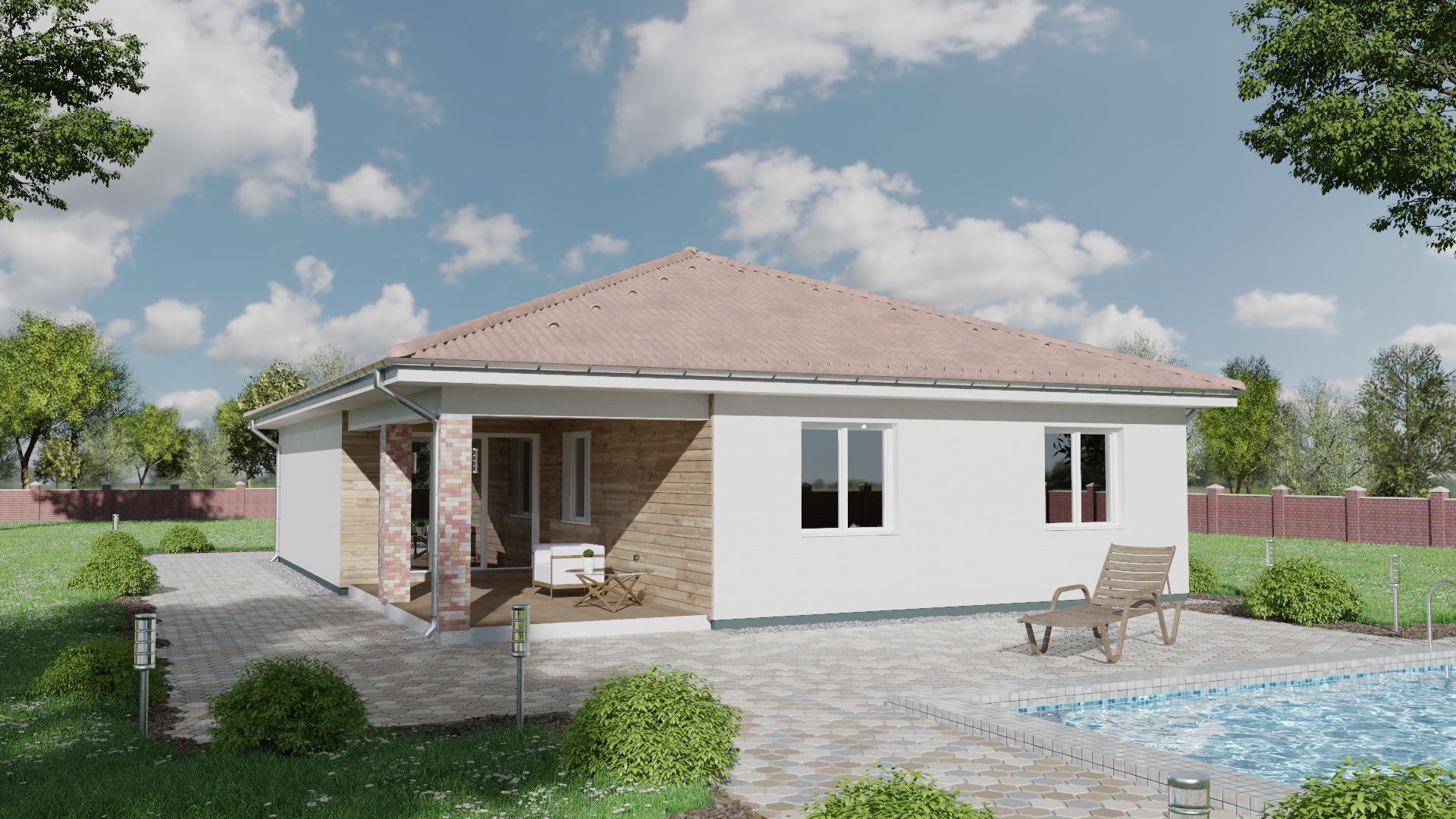 Projekt domu TIFFANY 1