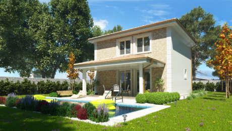 Projekt poschodového domu ANNA 1 - Poschodový dom ANNA 2 | Familyhouse
