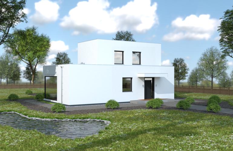 Poschodový dom Nóra 1 front 1