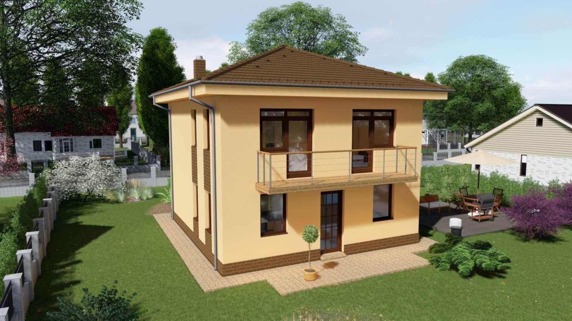 Projekt domu LAURA 1