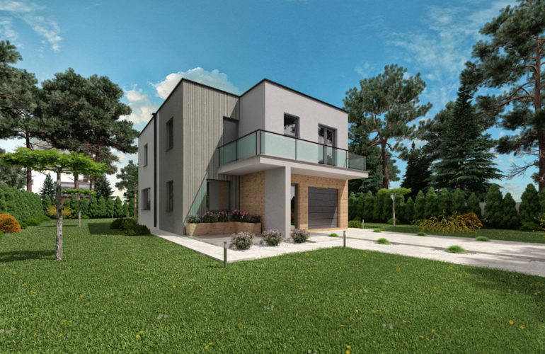 Poschodový dom Livia 1 Back 1