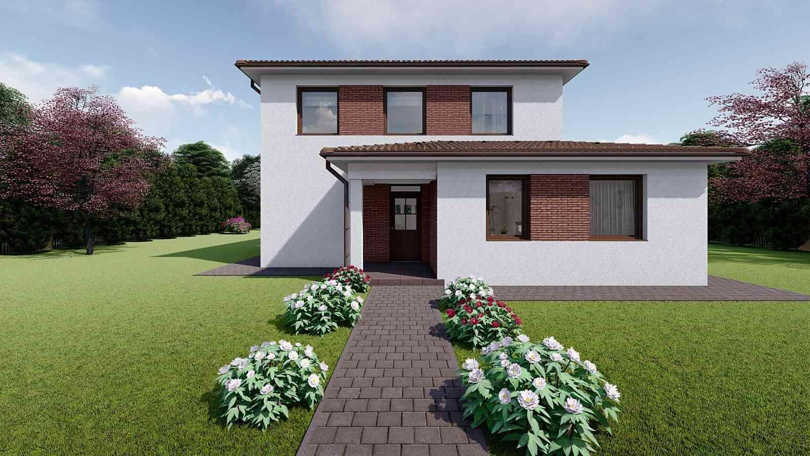 Projekt domu VIVIEN 1