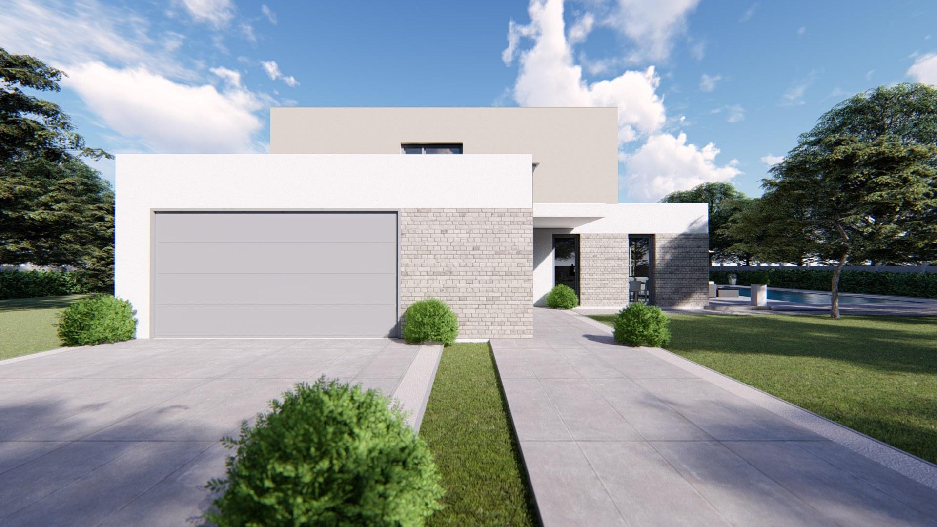 Projekt Domu LIVIA 8 dvojpodlažný dom s garážou