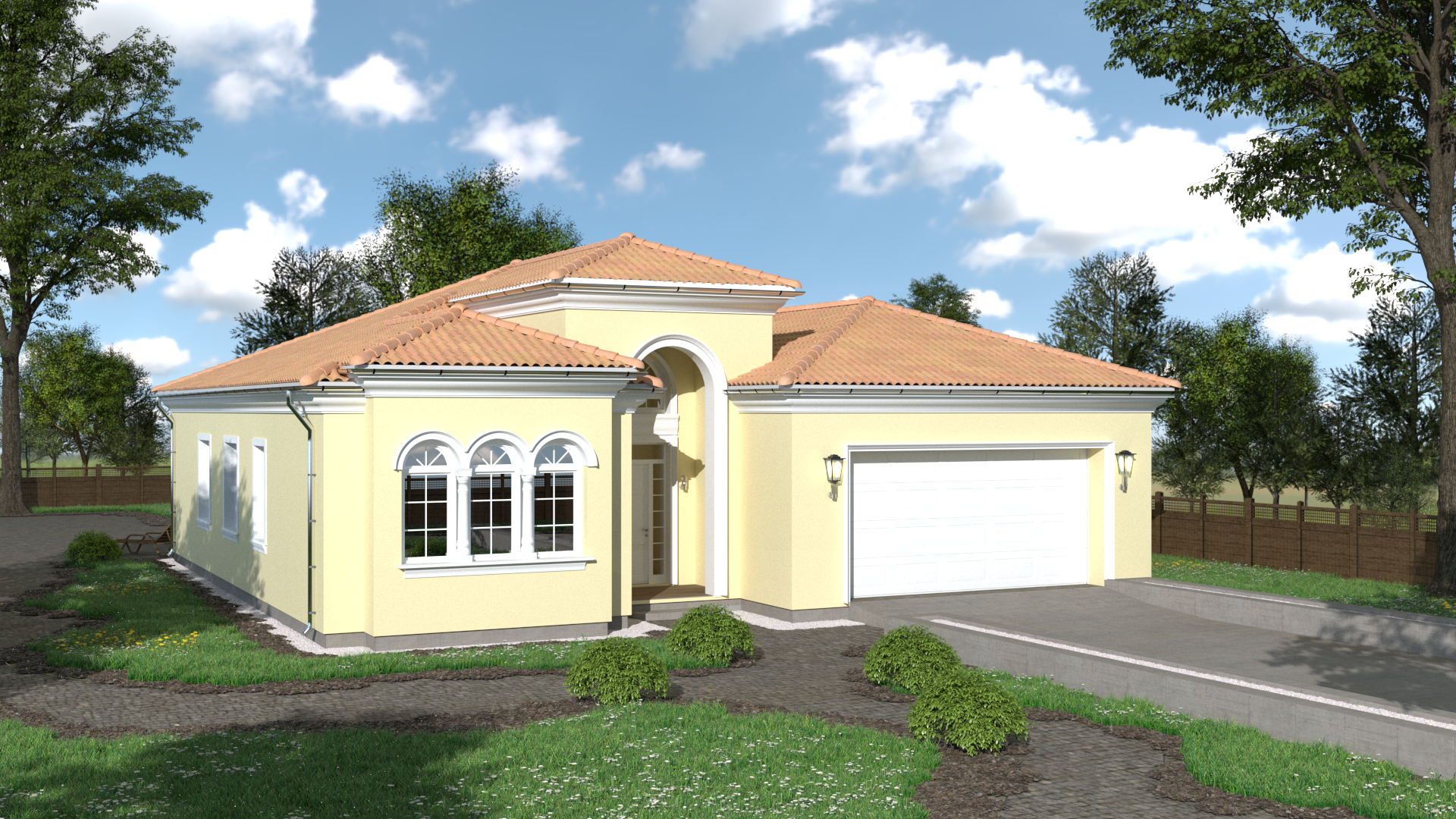 Projekt luxusného domu CASA GIULIA