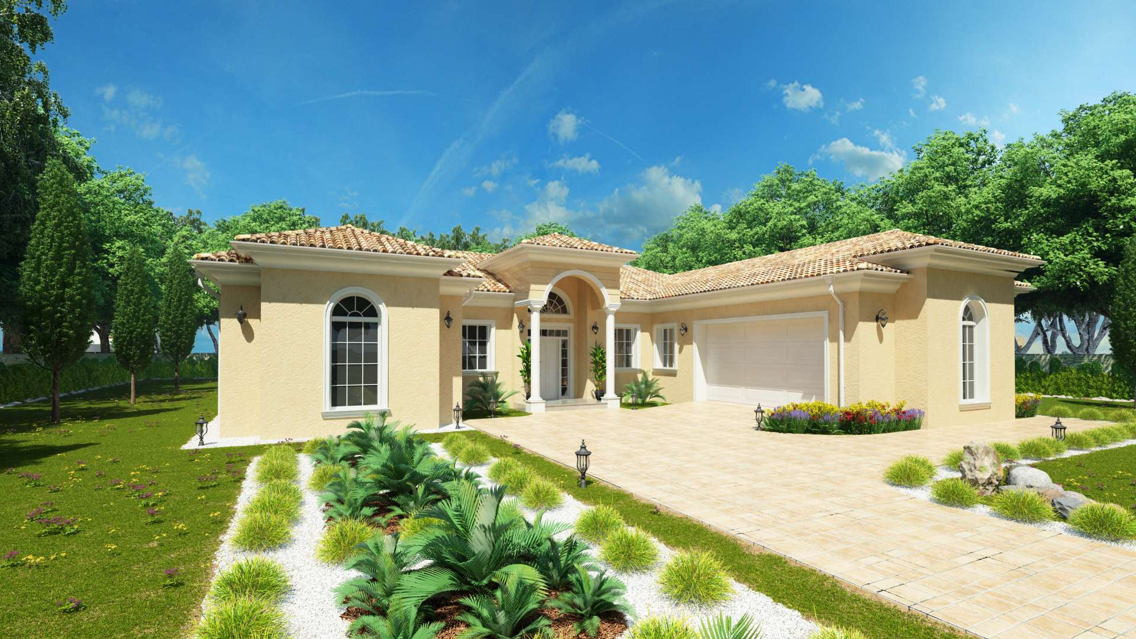 Projekt luxusného domu CASA CASTILIA