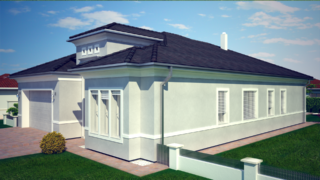 Projekt luxusného domu CASA CLAUDIA
