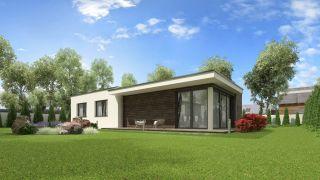 Rodinný dom na úzky pozemok NOCTE 2