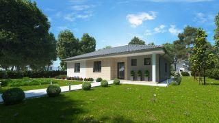 Projekt bungalov EMILY 2